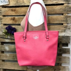 🎈NEW LISTING COACH Watermelon City Zip Top Tote